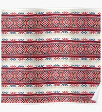 Knit Native Look Print Poster