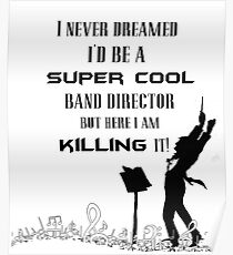 band director posters redbubble