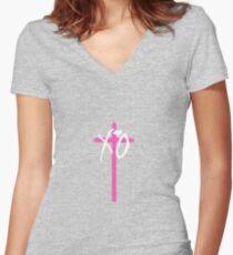 XO Starboy Women's Fitted V-Neck T-Shirt