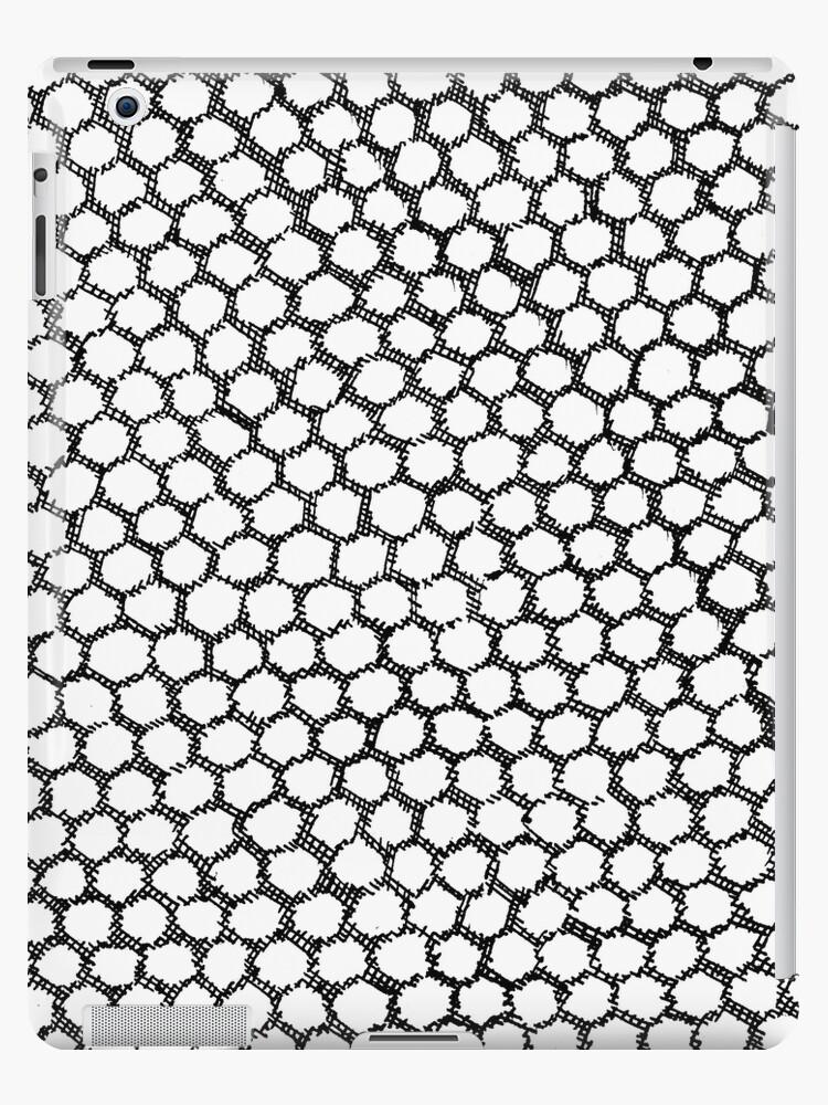 empty hexagon by beeempatterns