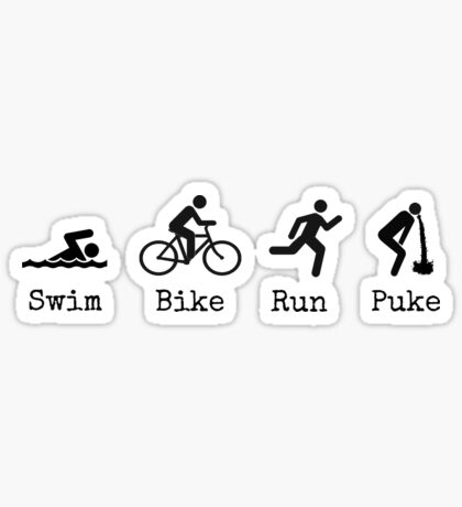 Triathlon Sticker