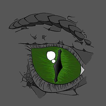 Dragon Eye - Right by ASoullessRanga