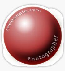 redbubble.com Photographer Sticker