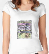 A branch of lily - 2 Women's Fitted Scoop T-Shirt