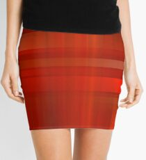 Orange Mini Skirt