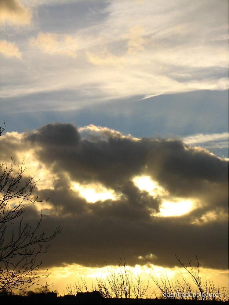 a cold sunset by daantjedubbledutch
