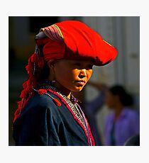 Red Dao. Photographic Print