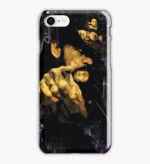 """Lemmy Kilmister, Motorhead """"Whiskey & Smoke"""" Heavy Metal iPhone Case/Skin"""