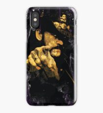 "Lemmy Kilmister, Motorhead ""Whiskey & Smoke"" Heavy Metal iPhone Case/Skin"