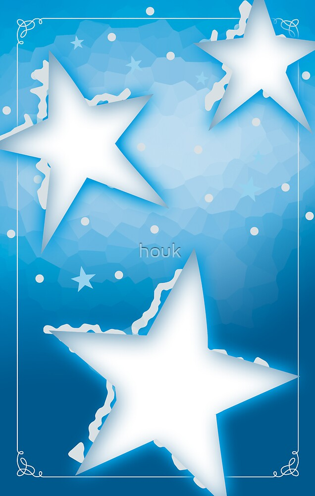Christmas cards 2 - Stars by houk