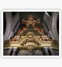 Moreau-orgel St. Janskerk Gouda  Sticker
