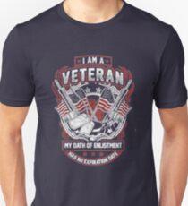 Im a veteran my oath of enlistment has no expiration date tshirt T-Shirt