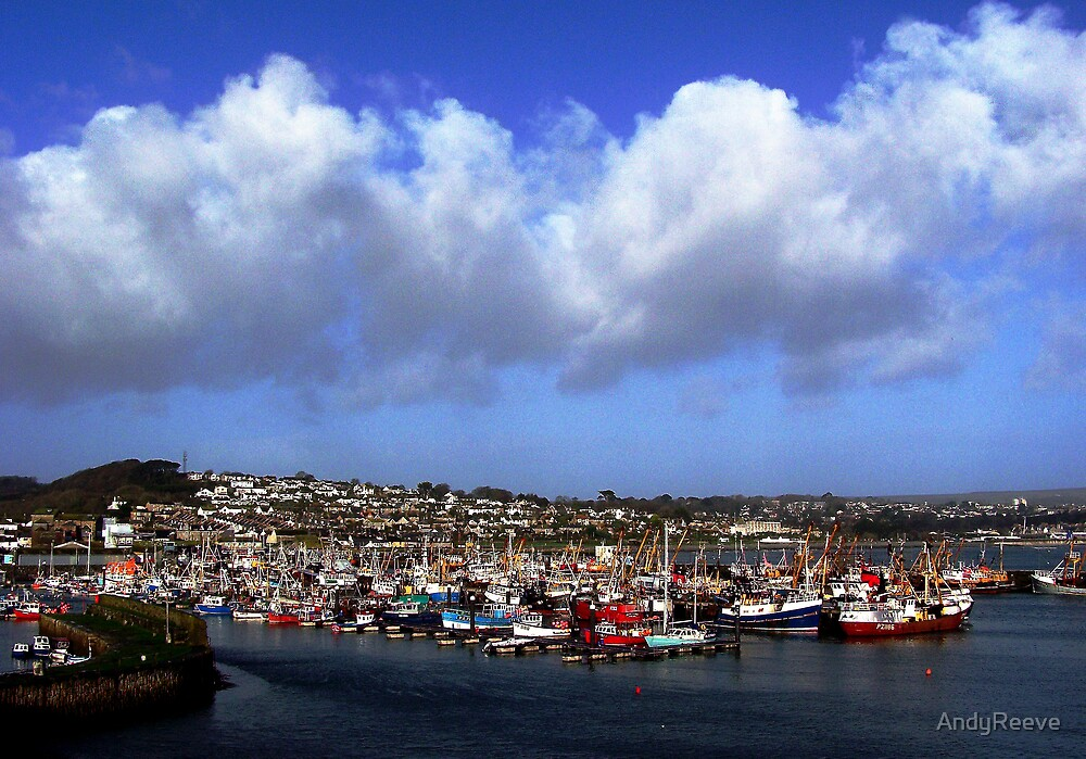 Newlyn Harbour - Cornwall UK by AndyReeve