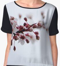 Faint Blossoms Women's Chiffon Top