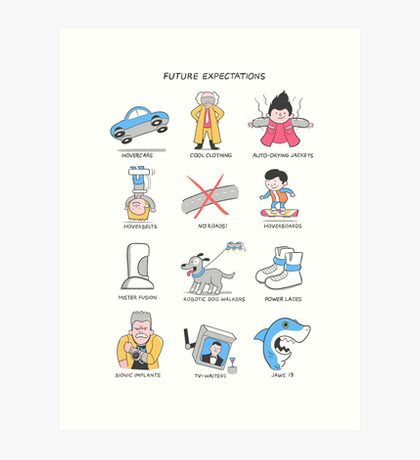 Future Expectations Art Print
