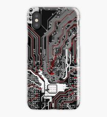 Metro - Project Chipset iPhone Case