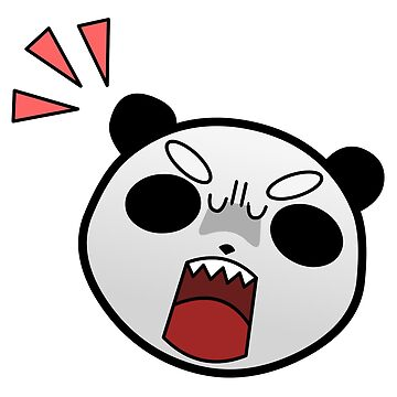 Grumpy Panda by kitrodri