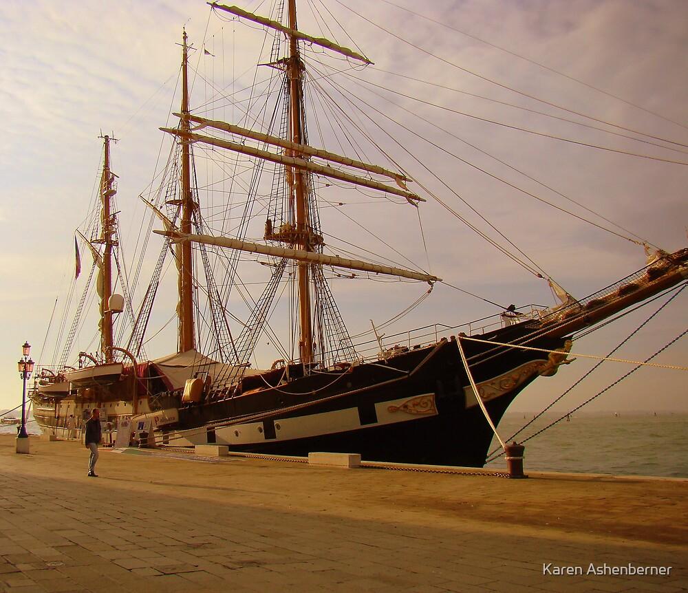 Preparing to Sail by Karen Ashenberner