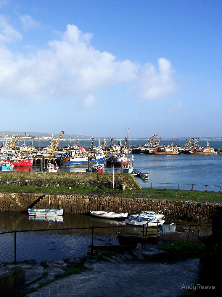 Newlyn Harbour2 by AndyReeve