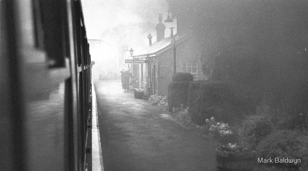 Misty Rail Journey by Mark Baldwyn