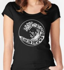the wars on drugs Women's Fitted Scoop T-Shirt