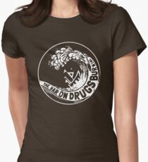 the wars on drugs Womens Fitted T-Shirt