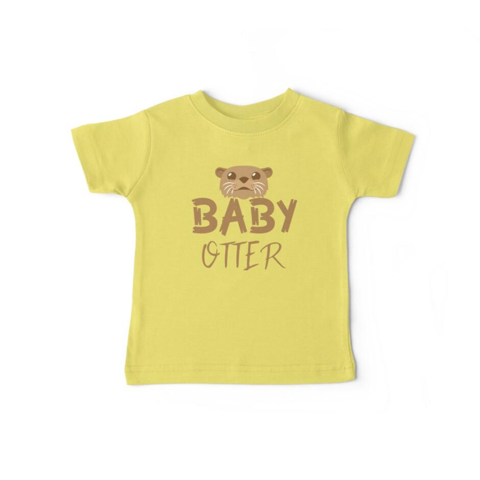 «BABY OTTER (con la correspondiente mamá Nutria y Papa Otter)» de jazzydevil