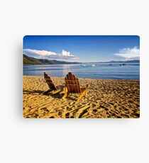 Lake Tahoe Beach Canvas Print