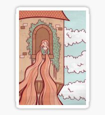 Rapunzel Sticker