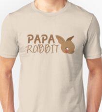 PAPA RABBIT (with matching Mama Rabbit and Baby Rabbit) T-Shirt