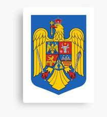 Romania Coat of Arms Canvas Print