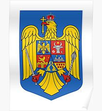 Romania Coat of Arms Poster