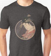Hanaōgi of the Gomeirō (Detail) T-Shirt