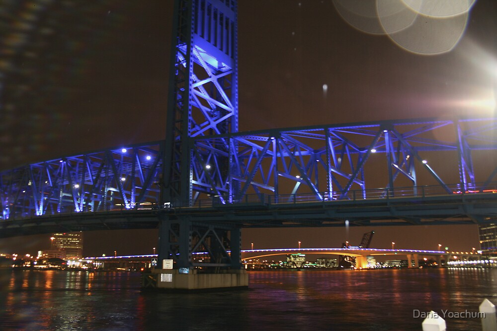 BRIDGE OF LIGHTS SHOT #2 by Dana Yoachum
