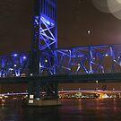 BRIDGE OF LIGHTS SHOT #2 by Dana Yoachum