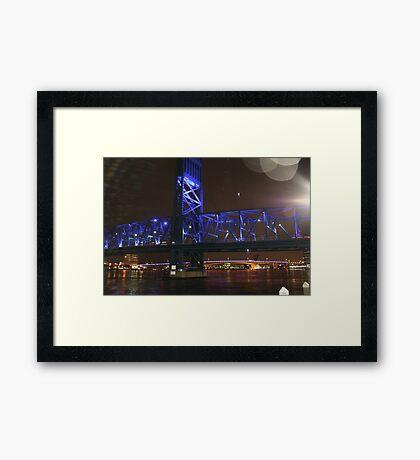 BRIDGE OF LIGHTS SHOT #2 Framed Print
