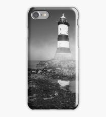Penmon Lighthouse iPhone Case/Skin