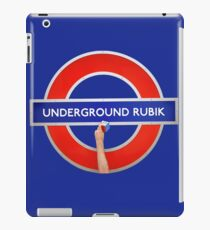Underground Rubik iPad Case/Skin