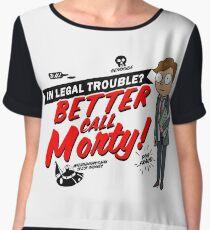 Better Call Morty! Chiffon Top
