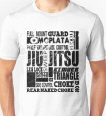 A-Z of BJJ Brazilian Jiu Jitsu  Unisex T-Shirt