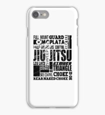 A-Z of BJJ Brazilian Jiu Jitsu  iPhone Case/Skin