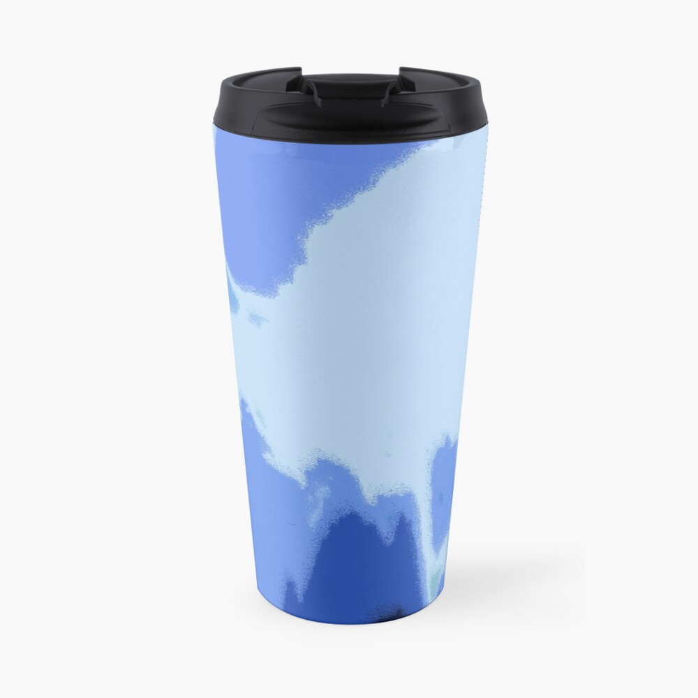 Blue Frequency Thermobecher