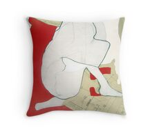 mapping myself3 Throw Pillow