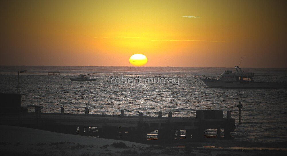 sunset series Lancelin W.A 2 by robert murray