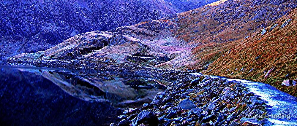 Blue mountain 2 by Karen Harding