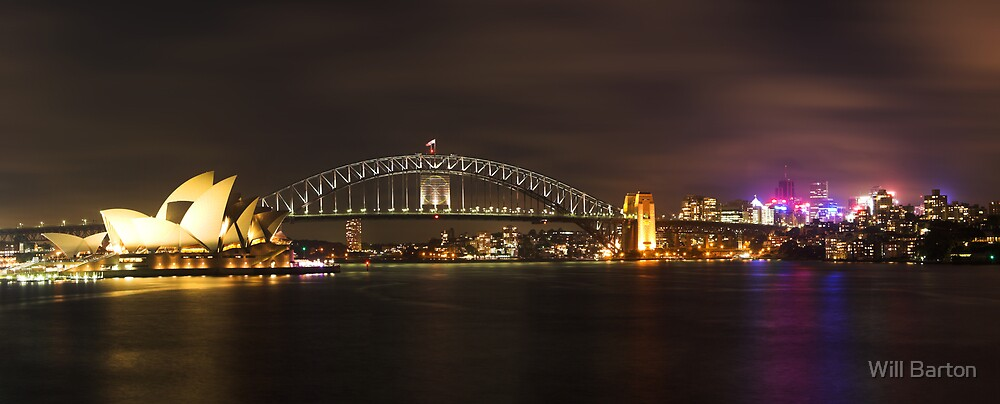 Sydney Harbour by Will Barton