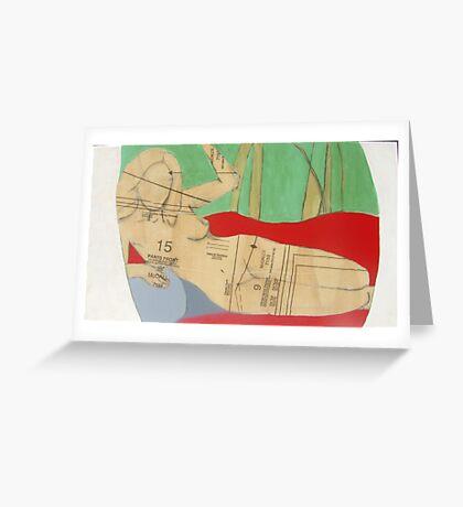 nudeme Greeting Card