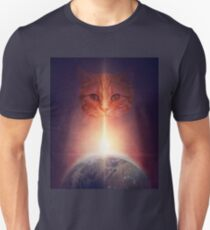 Funny Cats In Space T-Shirt