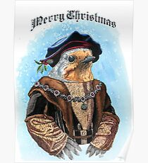 Merry Christmas from Maester Robin Poster