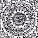 Echo Mandala Tangle by Vickie Simons